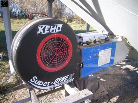 keho aeration fans for sale cardon steel bin 19ft on hopper c w keho 5h p aeration