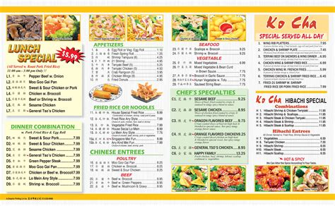 menu design korean korean food menu gallery