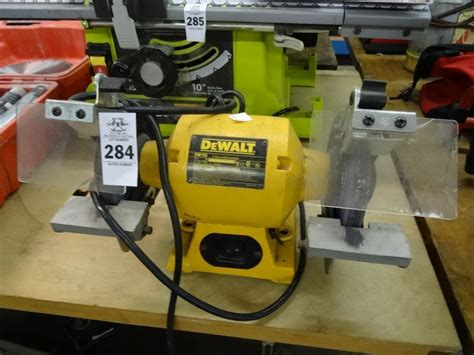 dewalt dw756 6 inch bench grinder dewalt bench grinder dw756 bay area auction services