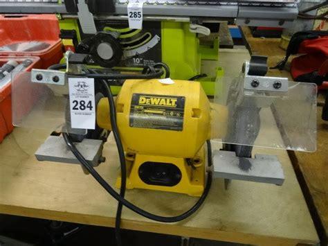 dewalt bench grinder dw756 dewalt bench grinder dw756 bay area auction services