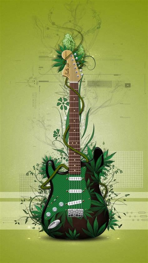 wallpaper green guitar green guitar iphone 6 wallpapers hd iphone 6 wallpaper
