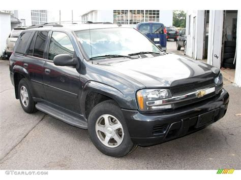 Gray Ls by 2006 Gray Metallic Chevrolet Trailblazer Ls 4x4