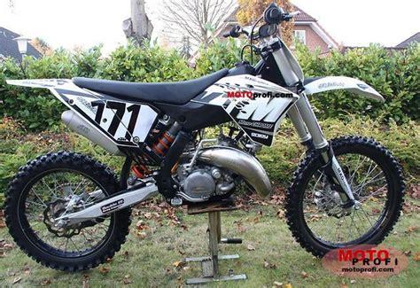 Sx150 Ktm 2009 Ktm 150 Sx Moto Zombdrive