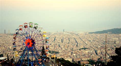 theme park in barcelona barcelona tibidabo amusement park