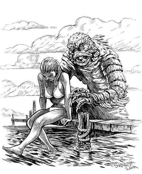 the from the black lagoon 251 best creature from the black lagoon images on