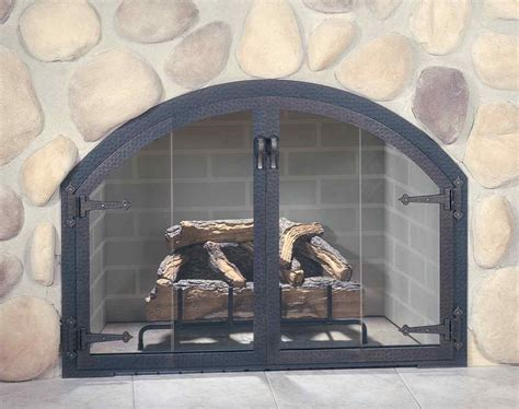 beautiful custom fireplace doors for your interior space