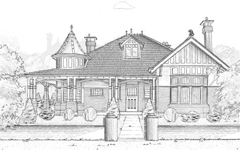 Edwardian House Floor Plans Queen Anne House What House Is That Culture Victoria