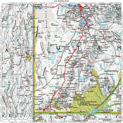 road map of utah and nevada routes montana idaho wyoming colorado utah nevada