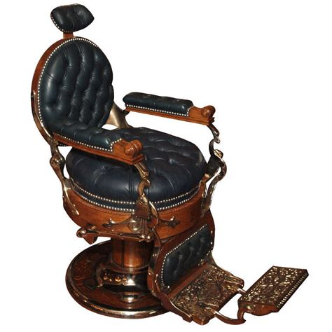 Antique Barber Chairs by Antique American Barber S Chair Circa 1890 At 1stdibs