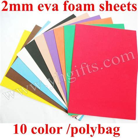 paper craft materials aliexpress buy 50pcs lot 2mm foam sheets sheets