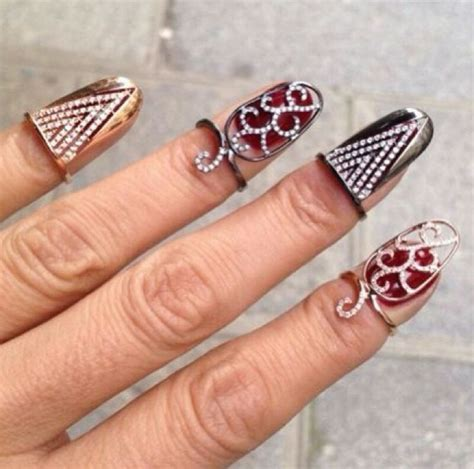 how to make nail jewelry nail jewelry rings www pixshark images galleries