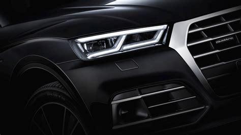 audi q5 headlights 2017 audi q5 shows advanced headlights boot