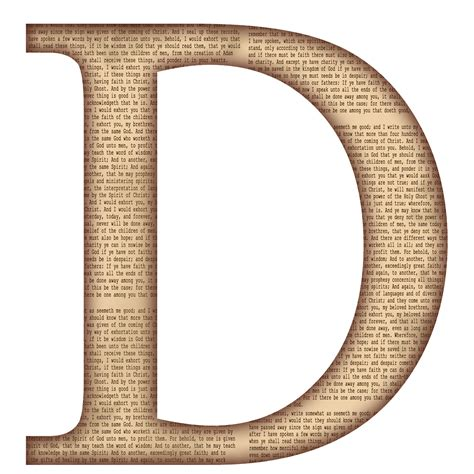 capital letter d template capital uppercase alphabet