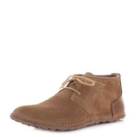 mens fly be express sand light grey suede desert