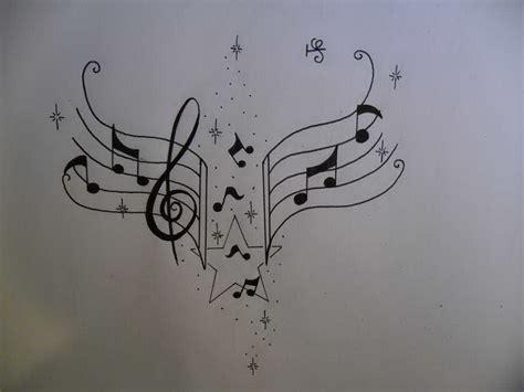 tattoo cat music music notes tattoo design tattoosuzette deviantart 5560899