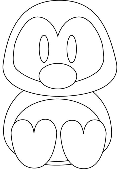 coloring pictures of baby penguins penguins coloring pages to download and print for free