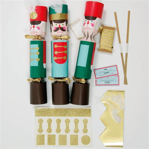 diy nutcracker christmas cracker kit for 10 by little baby