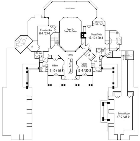 plan 16320md outdoor atrium house plans rec rooms and home 109 best floor plans images on pinterest