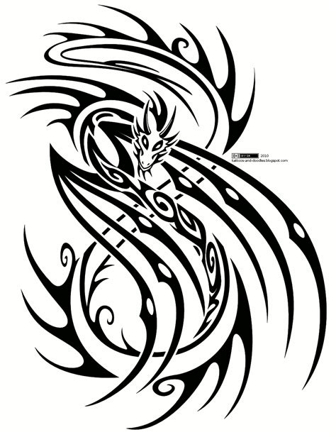 tribal tattoo template tribal tattoos and designs page 168