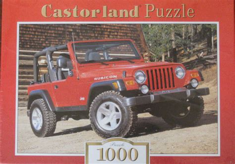 Allthings Jeep All Things Jeep Jeep Wrangler Rubicon Jigsaw Puzzle