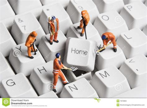 building a home based business stock images image 7670984