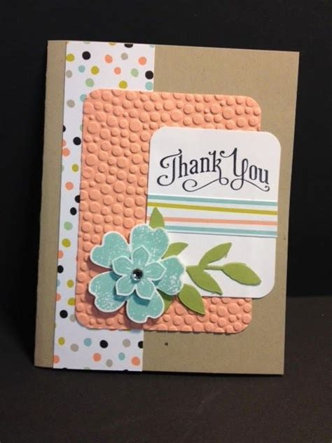 Thank You Cards Ideas Handmade - flower shop and petals thank you card stin up