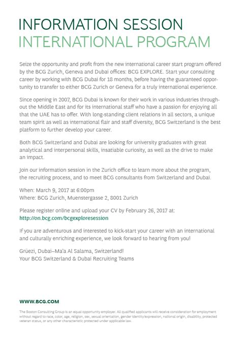 Cv Boston Consulting cover letter boston consulting