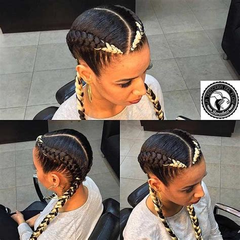 hairstyle with two corn row with bun to the side best 25 two cornrows ideas on pinterest two goddess