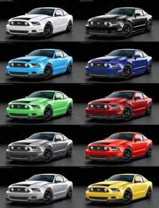 2014 mustang colors 2014 ford mustang rtr spec 2
