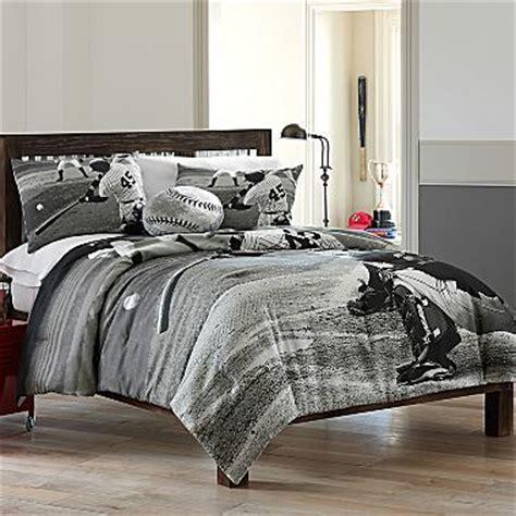 jcpenny s black white baseball bedding jw s bedroom