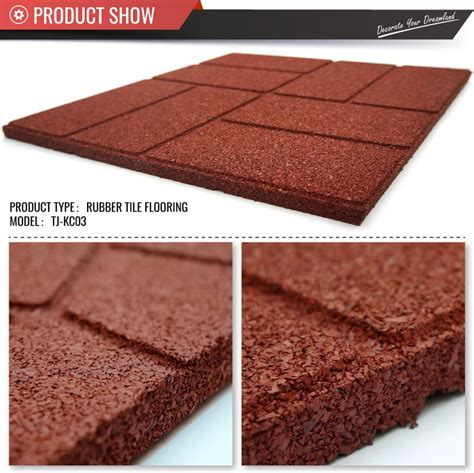 Recycled Rubber Patio Pavers 40cm 40cm Outdoor Recycled Rubber Tiles Patio Pavers China Top