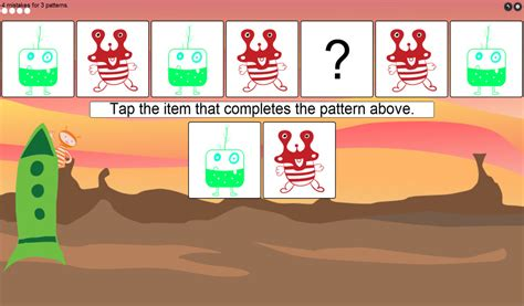 kindergarten pattern apps amazon com kids pattern recognition beginning
