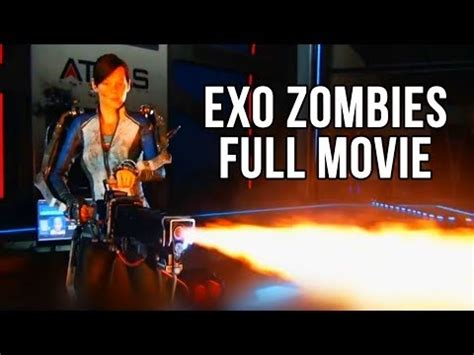 exo zombie tutorial ita cod advanced warfare all exo zombie cut scenes youtube