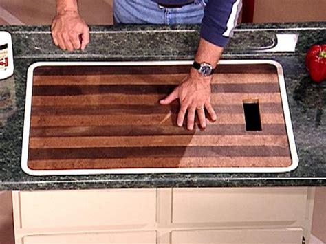 Built In Countertop Cutting Board by Cutting Board 101 Diy