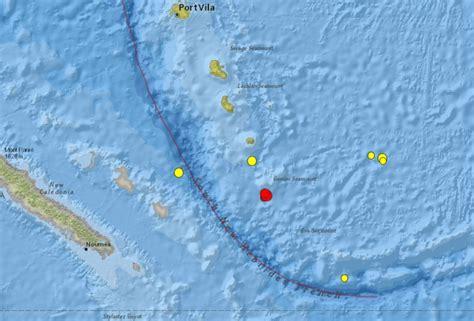 earthquake new caledonia strong and shallow m6 3 earthquake hits southeast of