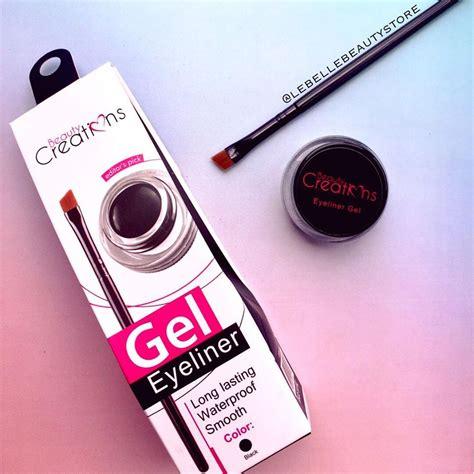 beauty creations delineador indeleble en gel para ojos beauty creations