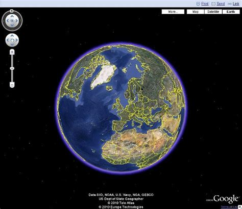 earth map maps charts 3d earth view zdnet