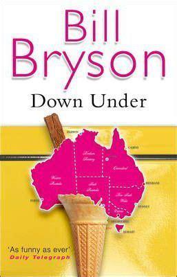 down under travels in down under bill bryson 9780552997034
