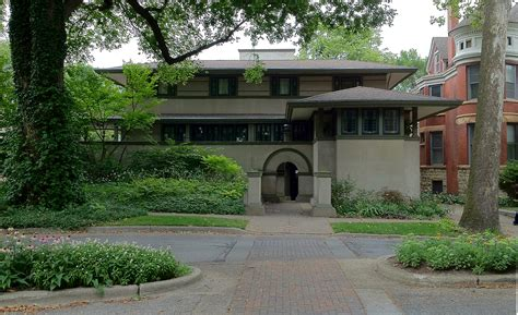 Frank Lloyd Wright House Plans by Frank Lloyd Wright S Oak Park Illinois Designs The