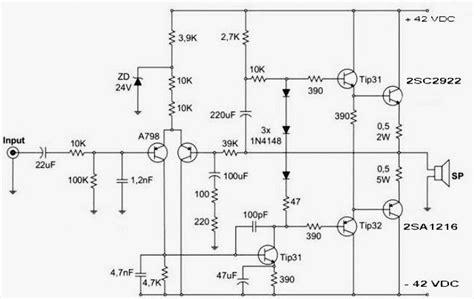 skema ocl  watt   hifi amplifier audio