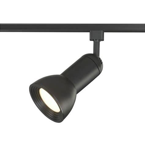 black led track lighting kits hton bay linear 3 light black track lighting kit