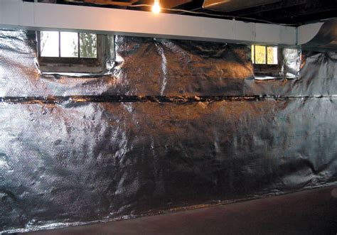 Thermaldry Wall Radiant Heat Vapor Barrier System Heat A Basement