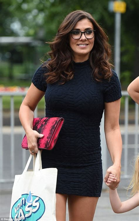 kym marsh 39 shows off her curves in leather pencil skirt kym marsh shows off her slim frame in figure hugging dress