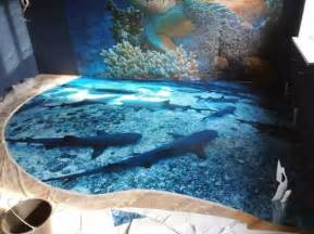 3d ocean floor designs 3d epoxy floors will trip you out sneakhype