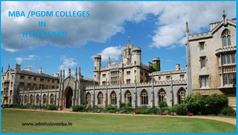 Mba In College by Top Mba Colleges Hyderabad List Of Mba Colleges Hyderabad