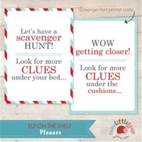 printable elf on the shelf scavenger hunt 1000 images about elf on pinterest elf on the shelf