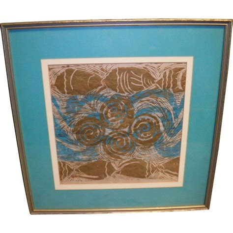 Framed And Matted by Delores White Matted And Framed Print From Cameo Antiques On Ruby