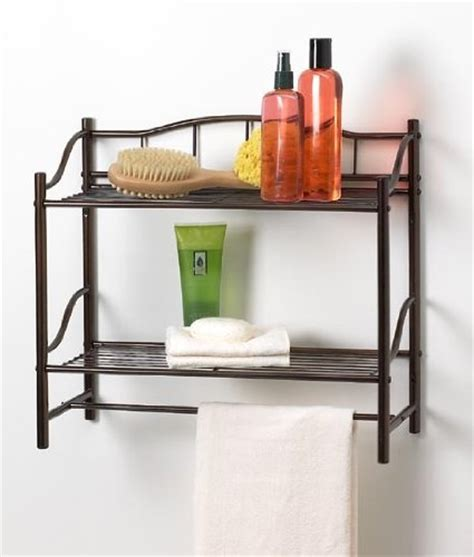 Wall Shelves Bathroom 5 Best Bathroom Wall Shelf Make Organization Easier