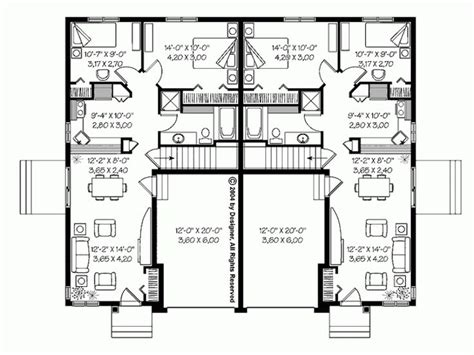 duplex bungalow house plans bungalow townhouses granny flats and small houses pinterest townhouse and bungalow