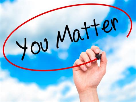 matters matter why it matters your they matter